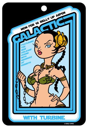 Scrojo Galactic Poster