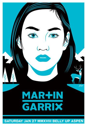 Scrojo Martin Garrix Poster