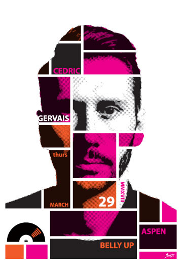 Scrojo Cedric Gervais Poster