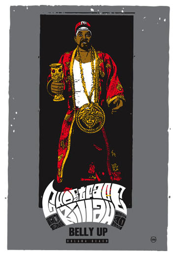 Scrojo Ghostface Killah Poster