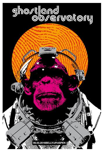 Scrojo Ghostland Observatory Poster