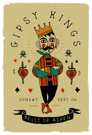Scrojo Gipsy Kings Poster