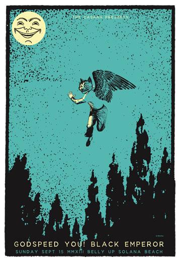 Scrojo Godspeed You Black Emperor Poster