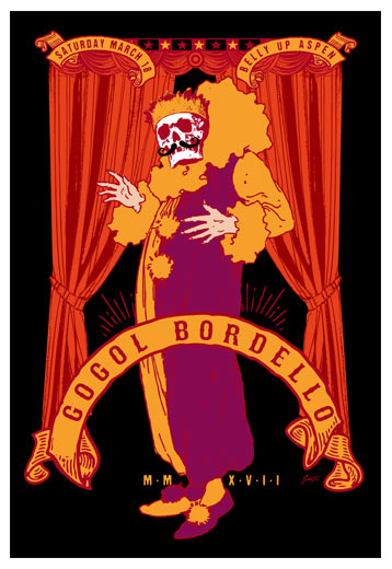 Scrojo Gogol Bordello Poster