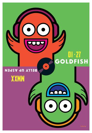 Scrojo Goldfish Poster