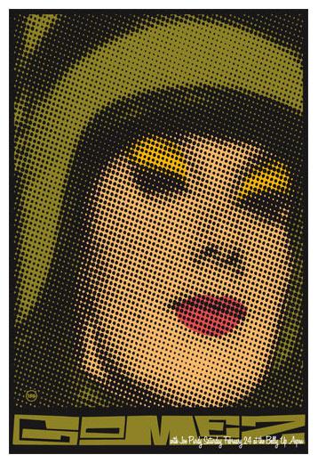 Scrojo Gomez Poster
