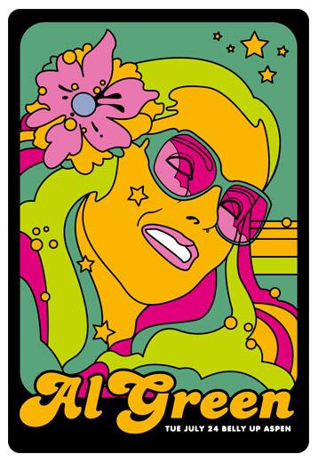 Scrojo Al Green Poster