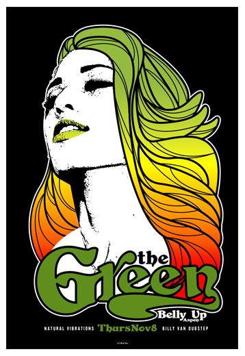 Scrojo The Green Poster