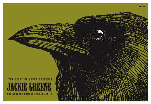 Scrojo Jackie Greene Poster