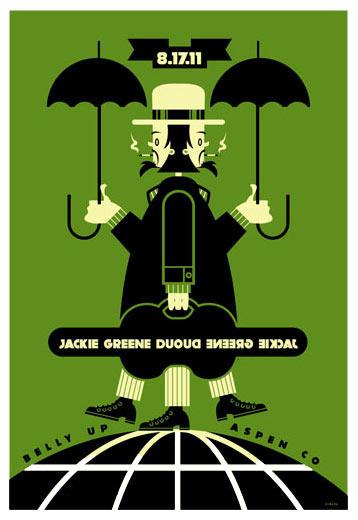 Scrojo Jackie Greene Duo Poster