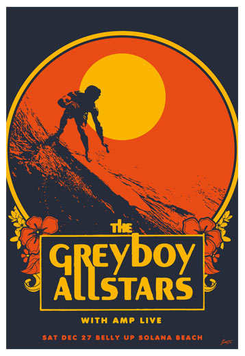Scrojo The Greyboy Allstars Poster