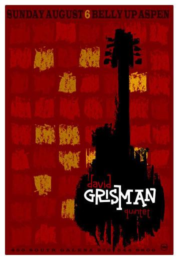 Scrojo David Grisman Quartet Poster