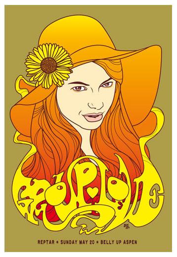 Scrojo Grouplove Poster