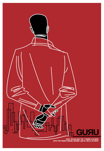 Scrojo Guru Poster