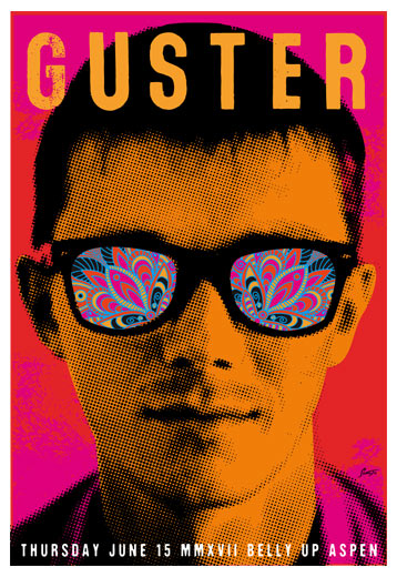Scrojo Guster Poster