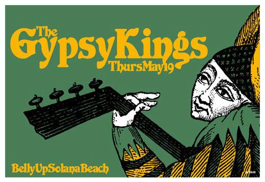Scrojo Gipsy Kings Poster