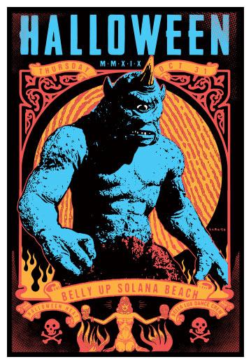 Scrojo Halloween Heat Poster