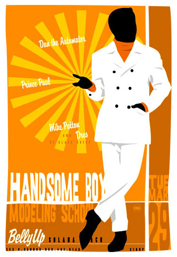 Scrojo Handsome Boy Modeling School Poster