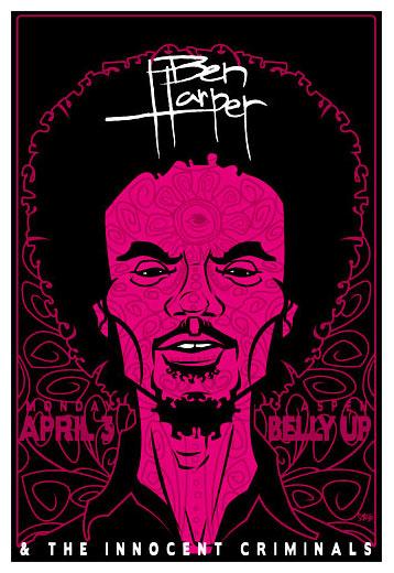 Scrojo Ben Harper  Poster