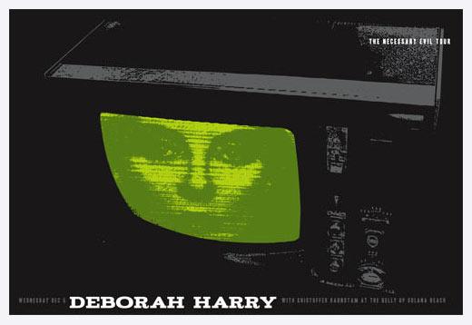 Scrojo Deborah Debbie Harry (of Blondie) Poster