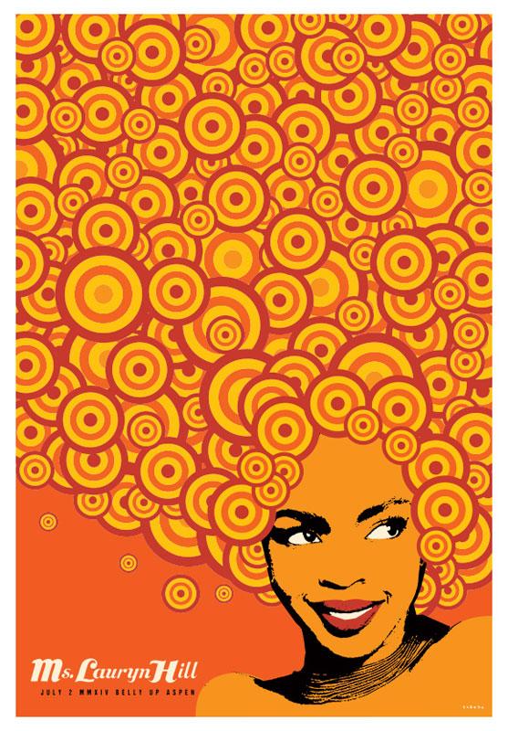 Scrojo Lauryn Hill Poster