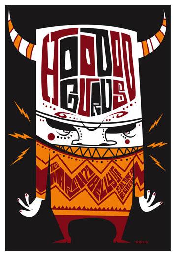 Scrojo Hoodoo Gurus Poster