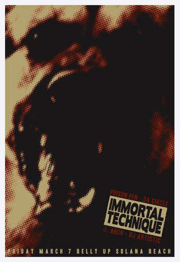 Scrojo Immortal Technique Poster