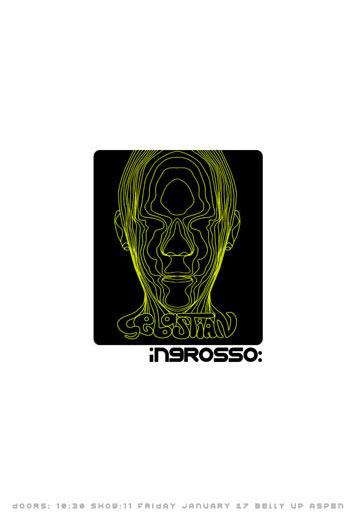 Scrojo Sebastian Ingrosso Poster