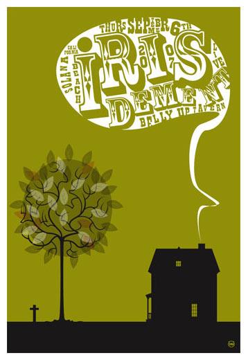 Scrojo Iris Dement Poster