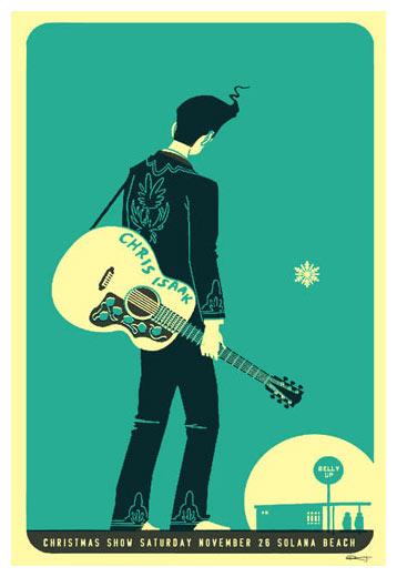 Scrojo Chris Isaak Poster