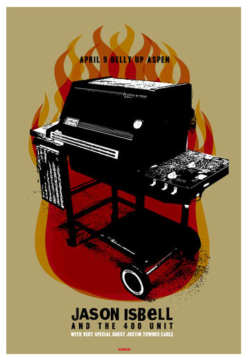 Scrojo Jason Isbell and the 400 Unit Poster