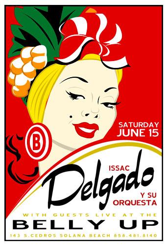 Scrojo Issac Delgado y su Orquesta Poster