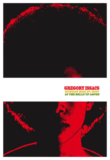 Scrojo Gregory Isaacs Poster