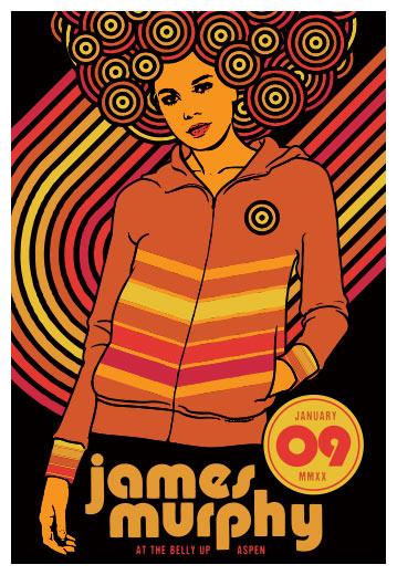Scrojo James Murphy Poster