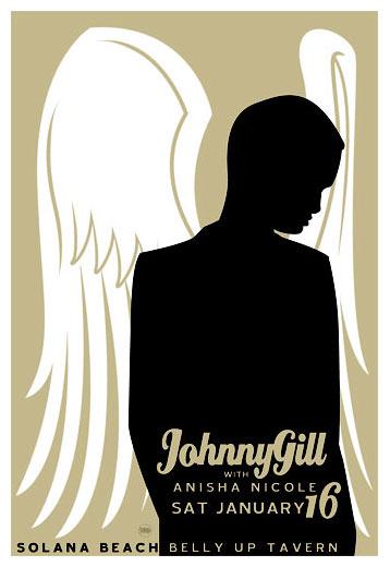 Scrojo Johnny Gill Poster