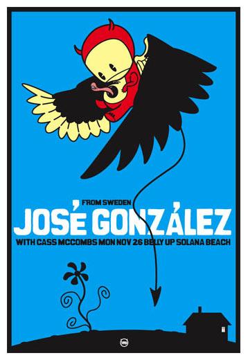 Scrojo Jose Gonzalez Poster