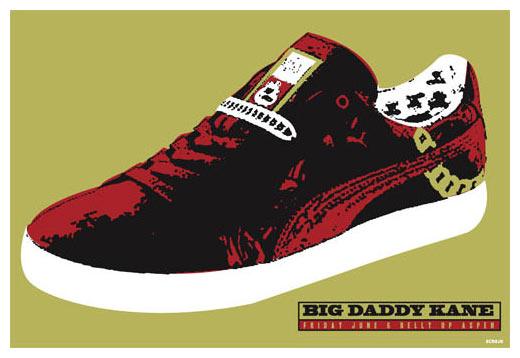 Scrojo Big Daddy Kane Poster