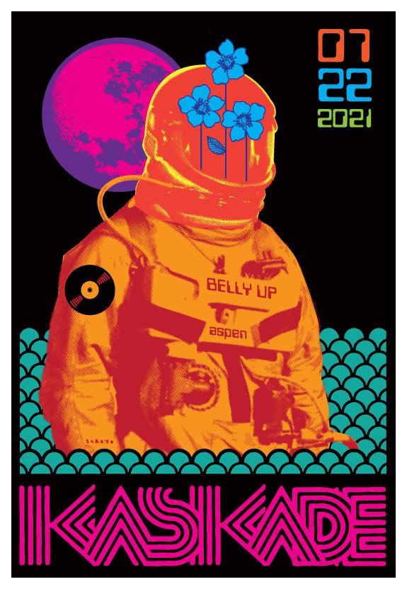 Scrojo Kaskade Poster