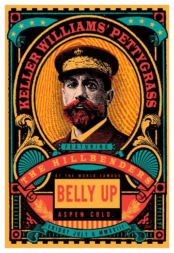 Scrojo Keller Williams' Pettygrass Poster