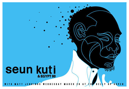 Scrojo Seun Kuti Poster