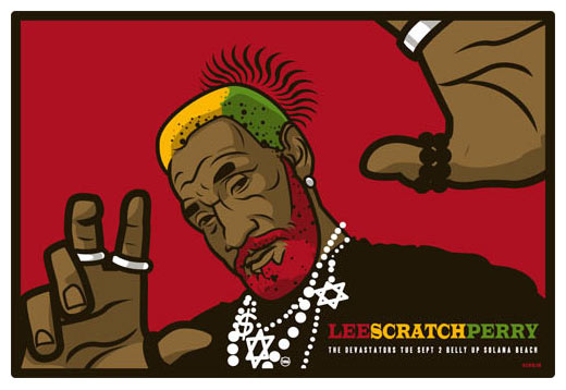 Scrojo Lee Scratch Perry Poster