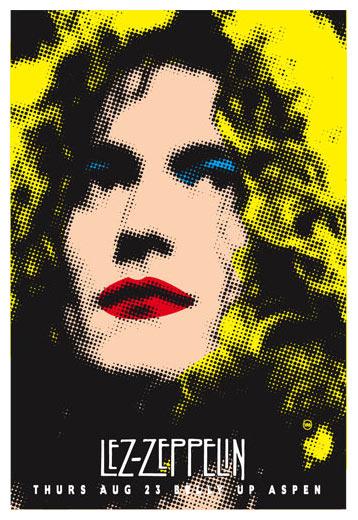 Scrojo Lez Zeppelin (All-Female Led Zeppelin Tribute Band) Poster