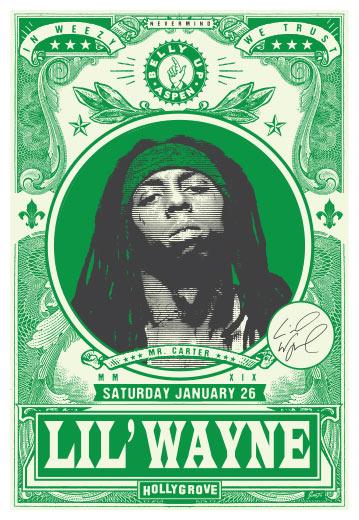 Scrojo Lil' Wayne Poster