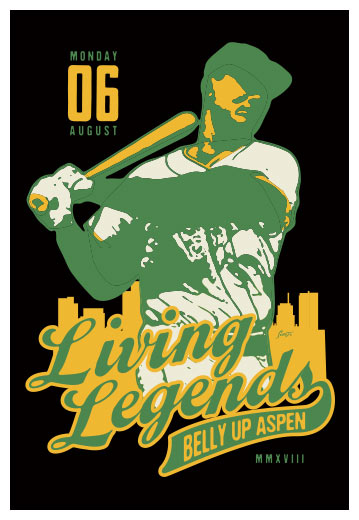 Scrojo Living Legends Poster