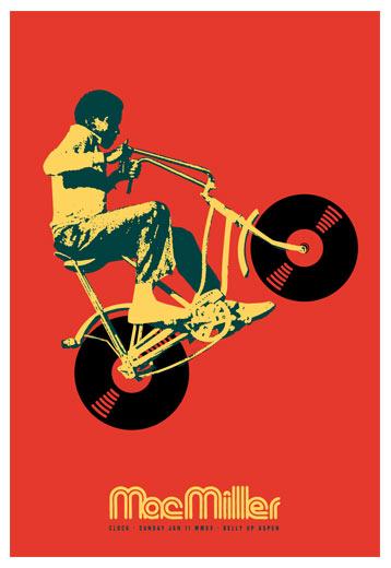 Scrojo Mac Miller Poster