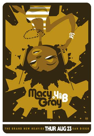 Scrojo Macy Gray Poster