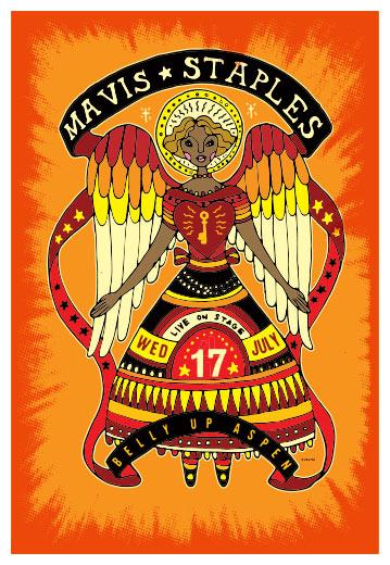 Scrojo Mavis Staples Poster