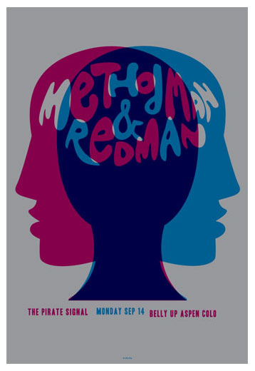 Scrojo Method Man and Redman Poster