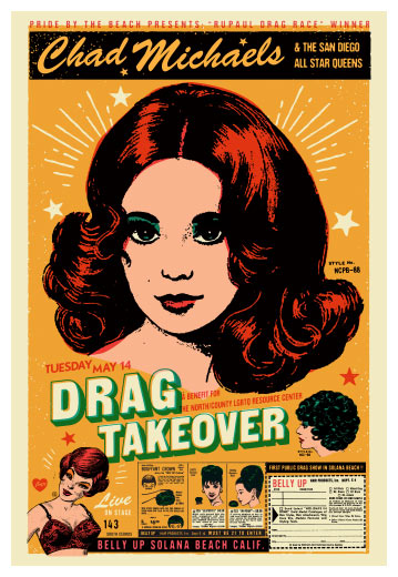 Scrojo Drag Takeover featuring Chad Michaels Poster