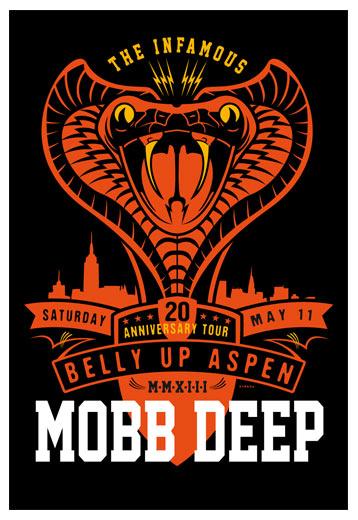 Scrojo Mobb Deep - 20th Anniversary Tour Poster